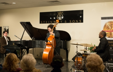 Nardone Trio Wows in Steinway Session