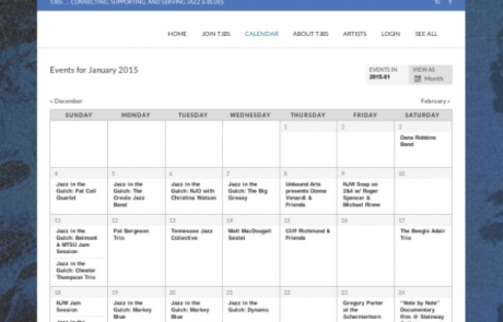 The TJBS Community Calendar needs your help!