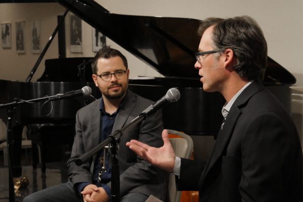 Session at Steinway Swinging, Informative w/ Cobb & Havighurst