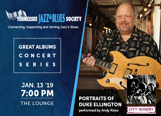Great Albums Concert: Portraits of Duke Ellington with Andy Reiss