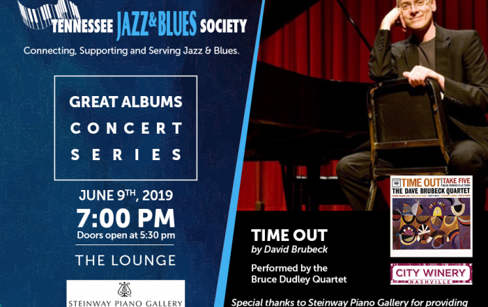 Great Albums Concert: Time Out by Dave Brubeck Performed by the Bruce Dudley Quartet