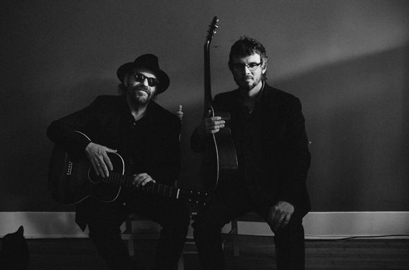 Tennessee Jazz & Blues Society Colin Linden and Luther Dickinson in